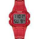GUESS Uhr rot