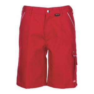 Planam Shorts Canvas 320 rot/rot L