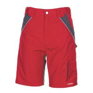 Planam Shorts Plaline rot/schiefer XS