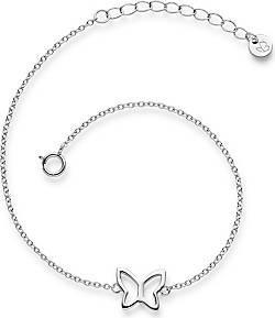 Glanzstücke München  Glanzstücke München Armband Schmetterling Sterling Silber   silber Armband 1.0 pieces