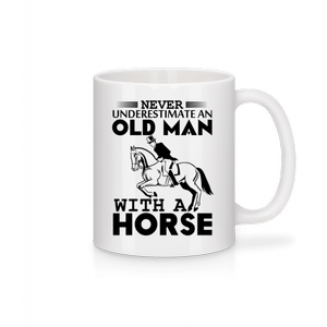 Old Man With Horse · Tasse