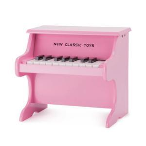 New Classic Toys Piano - Pink - 18 Tasten